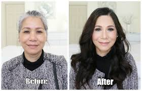 50 year old makeover power of makeup mother in law makeover youtube