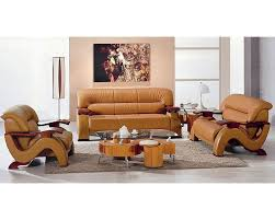 modern style bonded leather sofa set 44l6085