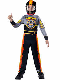 Halloween Monster Costumes by Amazon Com Monster Jam Max D Costume Size 8 Medium Toys U0026 Games