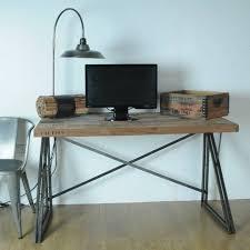 Reclaimed Wood Desk Furniture Interesting Reclaimed Wood Desk For Interior Design