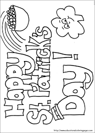 St Pattys Day Coloring Pages st s day coloring educational coloring pages