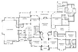 house plans with 5 bedrooms 5 bedroom home plans gorgeous one story 5 bedroom house plans on any