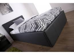 4ft Ottoman Storage Beds by Michigan Ottoman Storage Bed Gas Lift Black Brown Or White