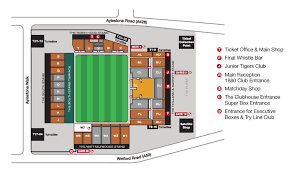 Stadium Floor Plans Prices U0026 Seating Plan Leicester Tigers