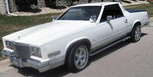 cadillac car truck cadillac eldamino truck