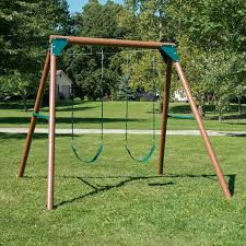 Flexible Flyer Lawn Swing Frame by Amazon Com Equinox Swing Set Toys U0026 Games
