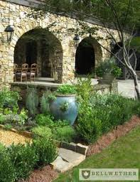 Pea Gravel Front Yard - pea gravel front entry with boxwood borders bellwether