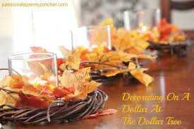 decorating on a dollar at the dollar tree dollar tree fall