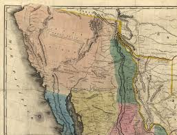 Map Of California And Mexico by When Two States California And Deseret Laid Claim To Los Angeles
