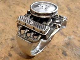 rings engine images Jewelry for the ultimate gearhead rings with your favorite jpg