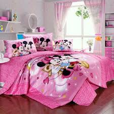 minnie mouse bedroom set mickey minnie mouse bedding set egyptian cotton bed linen for