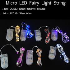20 led micro lights battery operated 10pieces lot 2cr2032 battery operated 2m 20 leds micro fairy string