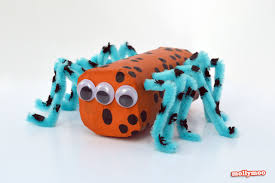 Halloween Crafts For Kindergarten Mollymoocrafts Halloween Crafts For Kids Toilet Roll Spiders