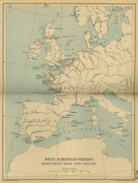 Map Western Europe by