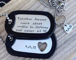 his and hers dog tags dog tags etsy