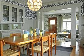 Mission Style Dining Room Modern Craftsman Interiors View In Gallery Modern Craftsman Style