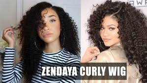 hair big curly lace wig zendaya amas inspired wowafrican