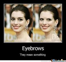 Eyebrows Meme Internet - eyebrows they matter by badrobot72 meme center