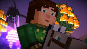 minecraft story mode horsing around 14 youtube