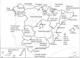 Map Spain Stereotype Map Of Spain By Regions 1600 X 1163 Mapporn