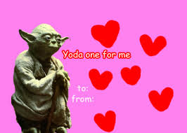 yoda valentines card wars yoda valentines valentines day valentines day card