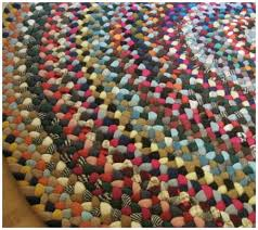 Braided Rugs Instructions Wool Braided Area Rugs Roselawnlutheran
