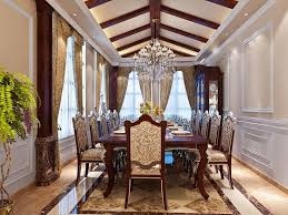 Luxurious Dining Room Designs Page  Of - Luxury dining rooms