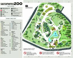 Oregon Zoo Map by Zoos Sacramento