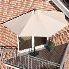 balkon markise ohne bohren pureday sonnenschirm halbrund im test markisen test info