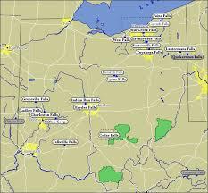 Ohio waterfalls images Map of ohio waterfalls jpg