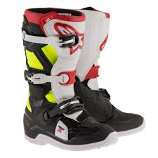 mens mx boots alpinestars racing tech 7s youth kids off road dirt bike junior