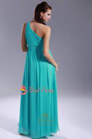jade chiffon bridesmaid dresses one shoulder pleated chiffon