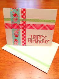 fun washi tape homemade birthday cards super cute and easy to