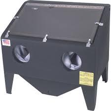 blast cabinet light kit alc polymer benchtop abrasive blast cabinet 30in model 41390