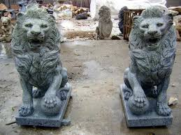 lions statues marble lion statues marble statuary carved animal statues