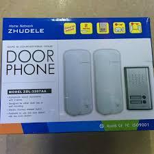 door release button for desk 2 families apartments cheap non visual doorbell audio lntercom