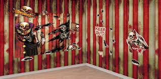 creepy carnival decorations creepy clown props party city