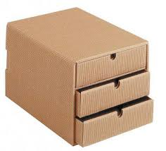 innovative cardboard storage boxes with drawers cardboard cube