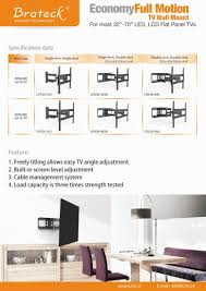 Cable Management System For Wall Mounted Tv Lpa36 443a Economy Solid Articulating Curved U0026 Flat Panel Tv Wall