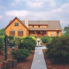 log home styles a new style for an arkansas log home