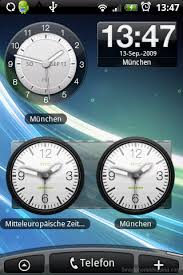 analog clock widgets for android htc desire get the htc clock widget working on adw launcher