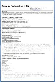 Lpn Resume Template Dazzling Design Inspiration Lpn Resume Sle 4 Lpn Objective Cv