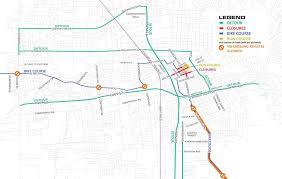 target black friday map detours u0026 road closures santa rosa ca