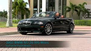 Bmw M3 Convertible - 2003 bmw m3 convertible t2668 youtube