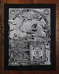 back patch sew on astrologia u0026 xenophilvs occult gothic patch