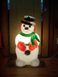 snowman outdoor decorations snowman winter decor led