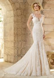 Mori Lee Wedding Dresses Mori Lee Bridal 2778 Lace Mermaid Wedding Dress