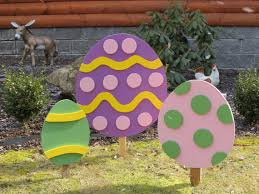 Decorated Easter Eggs For Sale by 2d Easter Egg Holiday Yard By Backroadproductions On Etsy 24 99