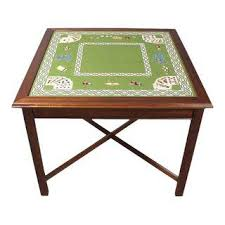 who sells card tables vintage used card game tables chairish