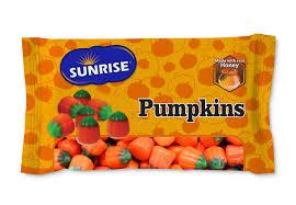 halloween pumpkin bag halloween sunrise confections